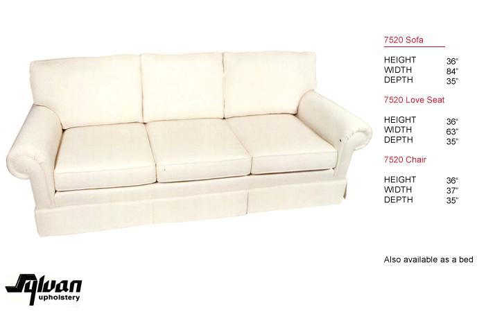 Style 7520 Sylvan Upholstery
